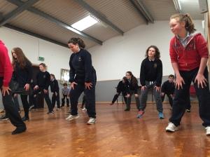 Dance Class Feb 2015