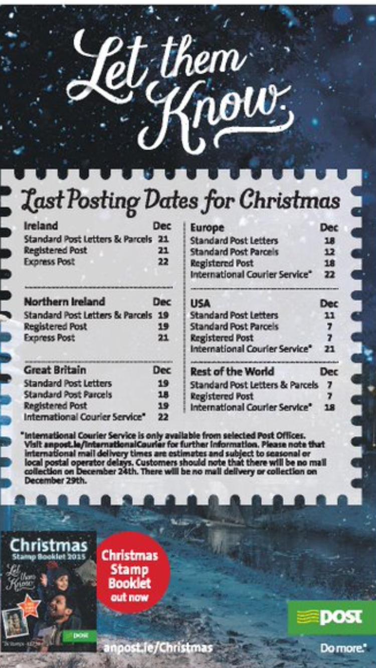 Christmas Card Time! – Craggagh NS Blog